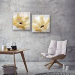 Artissimo Designs Soft Sunday Canvas Wall Art 2-piece Set