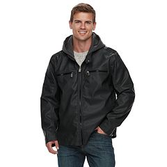 Men's Urban Republic Faux Leather Quilted Jacket