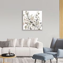 Artissimo Designs Sage Garden II Framed Canvas Wall Art
