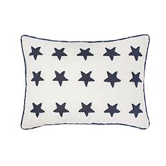 Always Home Nathan Embroidered Oblong Throw Pillow