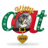Kitty Cat Photo Holder 2018 Hallmark Keepsake Christmas Ornament