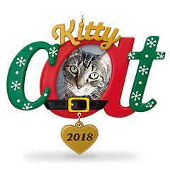 Kitty Cat Photo Holder 2018 Hallmark Keepsake Christmas Ornament