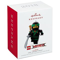 LEGO Ninjago Lloyd 2018 Hallmark Keepsake Christmas Ornament