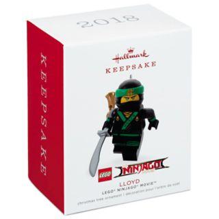 LEGO Ninjago Lloyd 2018 Hallmark Keepsake Christmas Ornament