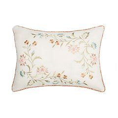 Always Home Medford Embroidered Oblong Throw Pillow