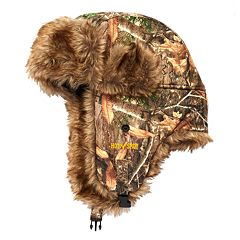 Boys 4-20 Realtree Sabre Trapper Hat