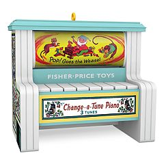 Fisher Price Change-a-Tune Piano Musical 2018 Hallmark Keepsake Christmas Ornament