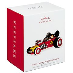 Disney Junior Mickey & the Roadster Racers 2018 Hallmark Keepsake Christmas Ornament