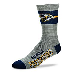 Men's For Bare Feet Nashville Predators Crew Cut Socks