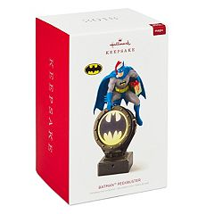 DC Comics Batman Peekbuster With Motion-Activated Sound 2018 Hallmark Keepsake Christmas Ornament