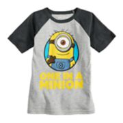Boys 4-10 Jumping Beans® Despicable Me Minion Raglan Graphic Tee