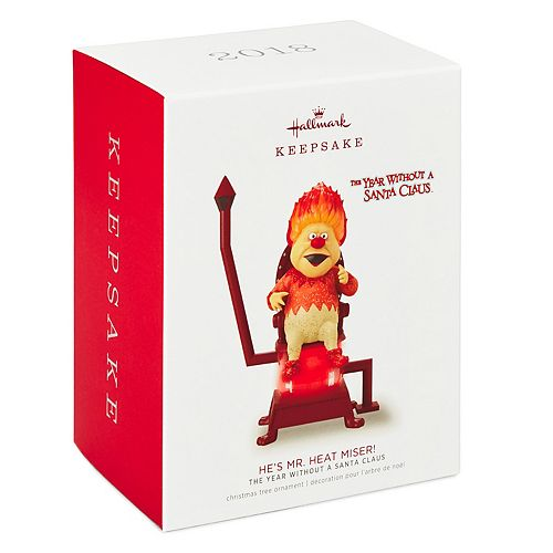 The Year Without a Santa Claus He's Mr. Heat Miser! 2018 Hallmark Keepsake Christmas  Ornament - The Year Without A Santa Claus He's Mr. Heat Miser! 2018 Hallmark