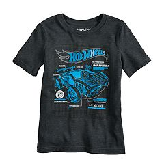Boys 4-10 Jumping Beans® Hot Wheels Impavido Car Gel Ink Graphic Tee