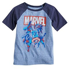 Boys 4-10 Jumping Beans® Marvel Avengers Raglan Graphic Tee