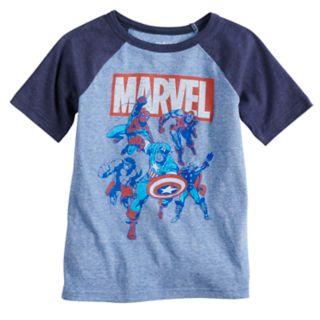 Boys 4-10 Jumping Beans® Marvel Avengers Raglan Graphic Tee