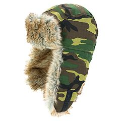 Boys 4-20 Igloos Camouflage Trapper Hat