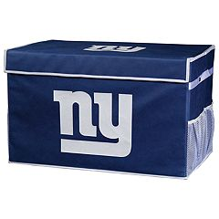 Franklin Sports New York Giants Large Collapsible Footlocker Storage Bin