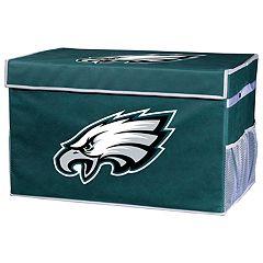 Franklin Sports Philadelphia Eagles Large Collapsible Footlocker Storage Bin
