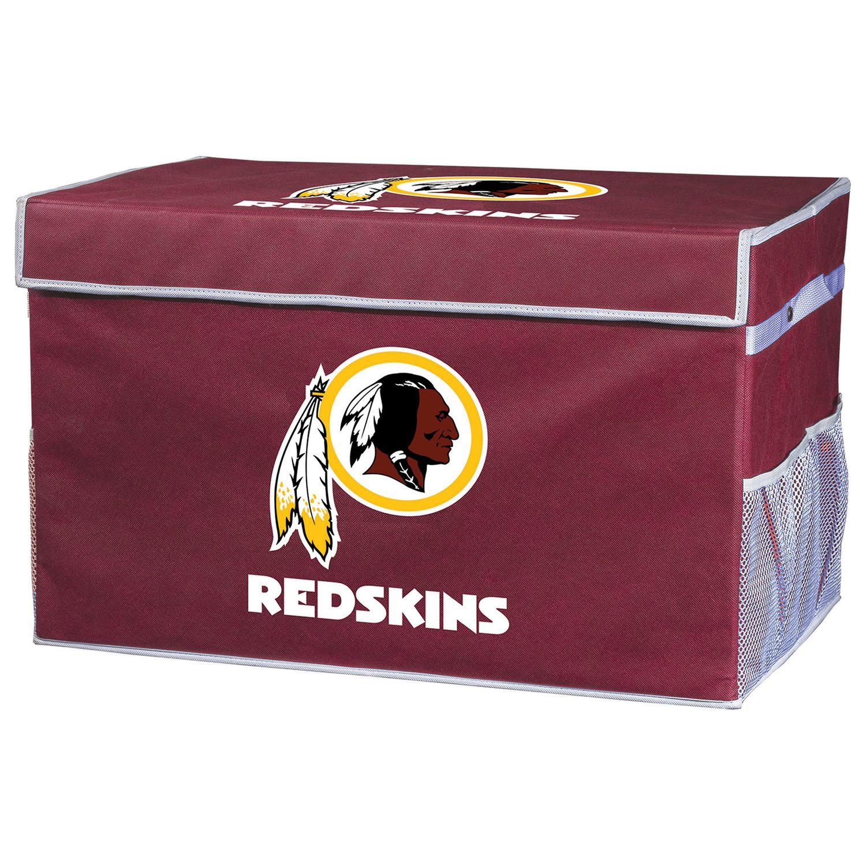 Merveilleux Franklin Sports Washington Redskins Large Collapsible Footlocker Storage Bin