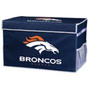 Franklin Sports Denver Broncos Large Collapsible Footlocker Storage Bin