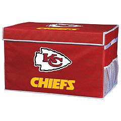 Franklin Sports Kansas City Chiefs Large Collapsible Footlocker Storage Bin