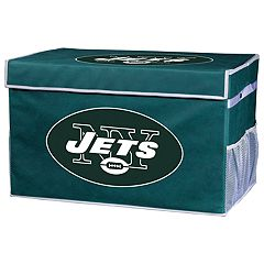 Franklin Sports New York Jets Large Collapsible Footlocker Storage Bin