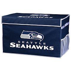 Franklin Sports Seattle Seahawks Large Collapsible Footlocker Storage Bin