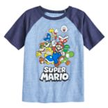 Boys 4-10 Jumping Beans® Super Mario Bros. Rad Raglan Graphic Tee