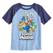 Boys 4-10 Jumping Beans® Nintendo Super Mario Bros. Rad Raglan Graphic Tee