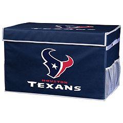 Franklin Sports Houston Texans Large Collapsible Footlocker Storage Bin