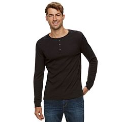 Men's Apt. 9® Soft Touch Slubbed Henley