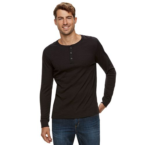Men's Apt. 9® Slubbed Henley