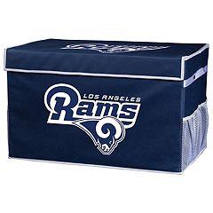 Franklin Sports Los Angeles Rams Large Collapsible Footlocker Storage Bin
