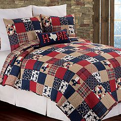CorF Home Texas Dalton Quilt or Sham