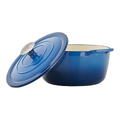 Food Network™ 5-qt. Enameled Cast-Iron Dutch Oven