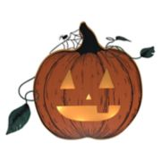 Celebrate Halloween Together Light-Up Pumpkin Wall Decor