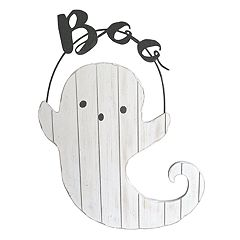 Celebrate Halloween Together 'Boo' Ghost Wall Decor