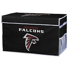 Franklin Sports Atlanta Falcons Small Collapsible Footlocker Storage Bin