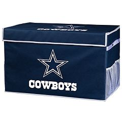 Franklin Sports Dallas Cowboys Small Collapsible Footlocker Storage Bin