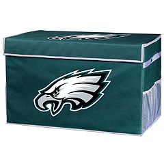 Franklin Sports Philadelphia Eagles Small Collapsible Footlocker Storage Bin