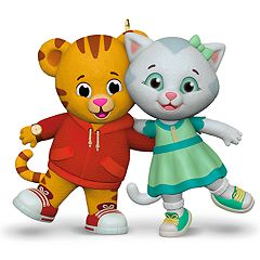 Daniel Tiger's Neighborhood Daniel & Katerina 2018 Hallmark Keepsake Christmas Ornament