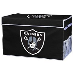 Franklin Sports Oakland Raiders Small Collapsible Footlocker Storage Bin
