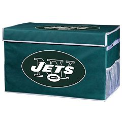 Franklin Sports New York Jets Small Collapsible Footlocker Storage Bin