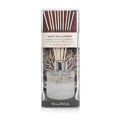 WoodWick White Jasmine 12-piece Reed Diffuser Set