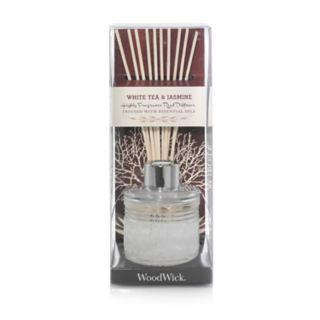 WoodWick White Jasmine 12-piece Reed Diffuser Set