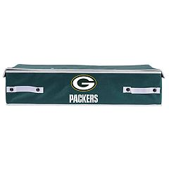 Franklin Sports Green Bay Packers Large Under-the-Bed Storage Bin