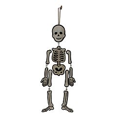 Celebrate Halloween Together Skeleton Wall Decor