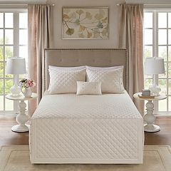 Madison Park Levine 4-piece Tailored Bedspread Set