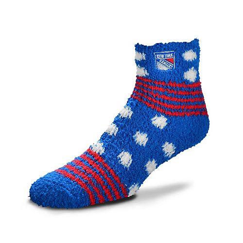 Women's For Bare Feet For Bare Feet New York Rangers Plush Ankle Socks