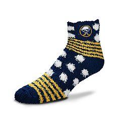 Women's For Bare Feet For Bare Feet Buffalo Sabres Plush Ankle Socks